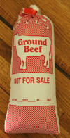 Ground Beef Bag Filled