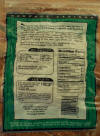 Home Pack DeWied Natural Sheep Casings.  Back of package includes Nutrition Statement