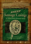 DeWied Homepack Size Natural Sheep Casing - will stuff 15 lbs. of meat - click on the Photo to enlarge