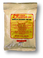AC Legg Old Plantation BBQ Seasoning and Rub.  Blend #107