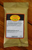 AC Legg Old Plantation Fresh Cajun Style Sausage Seasoning. Blend #110.  One 12 oz. Bag Will Season 25 lbs. of Meat.