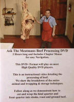 Beef Processing DVD