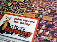 Deer Cutting Mat Close Up 2