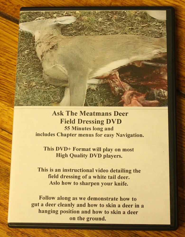 video clipsdeer skinning gutting dvd learn how to gut and skin your deer like the