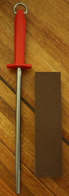 Granton 10 Inch Steel AND Norton Combination Sharpening Stone