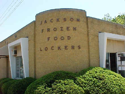 This is Jackson Frozen Food Locker - the physical location of Ask The Meatman.com