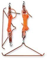 Purchase Magnum Lift System from Amazon.com for hoisting your deer up while skinning.