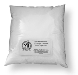 White Sugar Cure 5 Lb. Bag Witts Brand